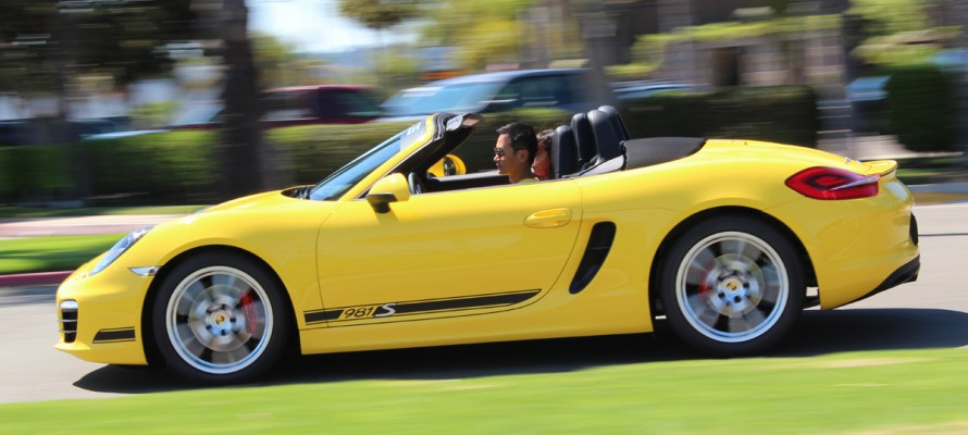 2012 Porsche 981 Boxster S Stripes