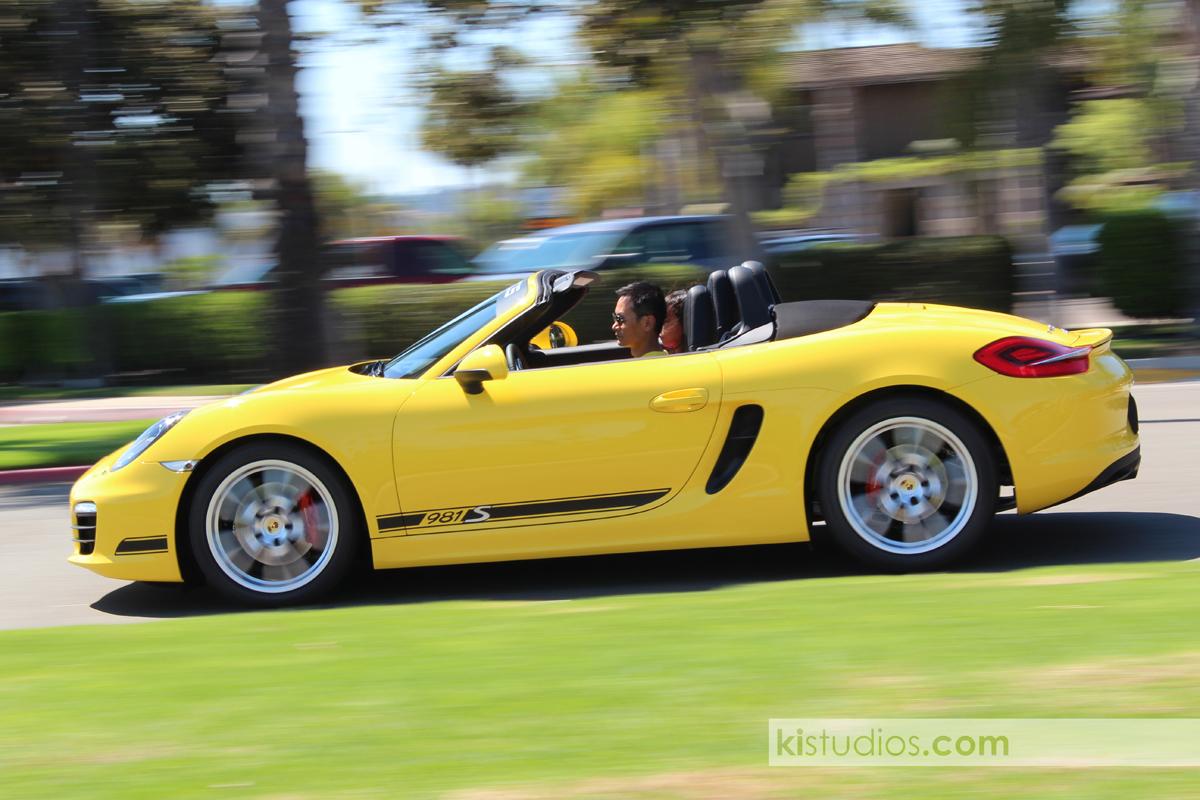 2012 Porsche 981 Boxster S Stripes Ki Studios