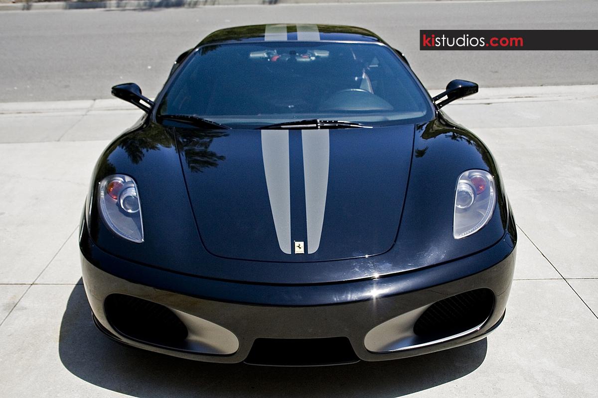 Ferrari F430 Vinyl Scuderia Stripes Ki Studios
