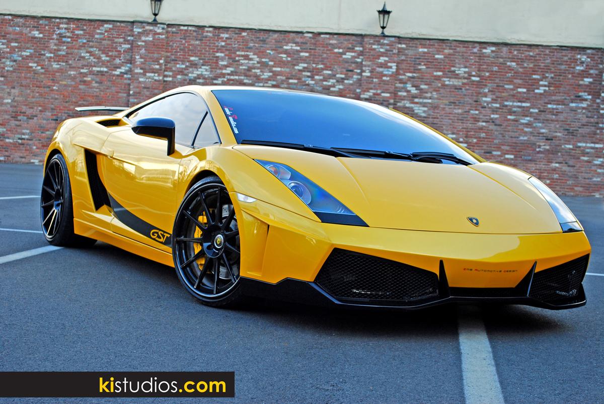 Custom Lamborghini Gallardo Side Stripes Ki Studios
