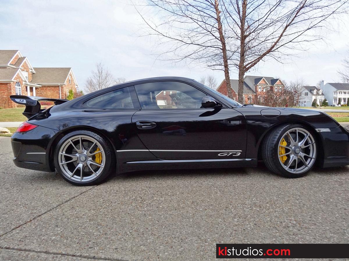 Garage Door Stickers Matte Black On Black Porsche Gt3 Ki Studios