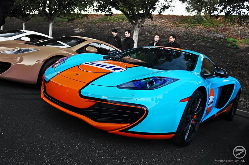 McLaren MP4 12C Gulf Wrap KI Studios