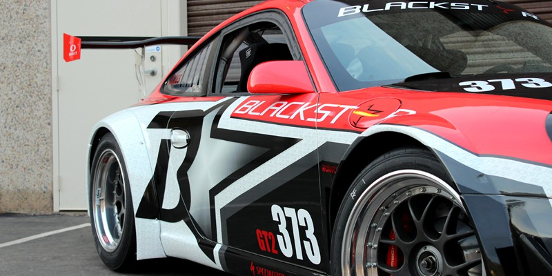 Blackstar Race Team Porsche GT3 Cup Wraps