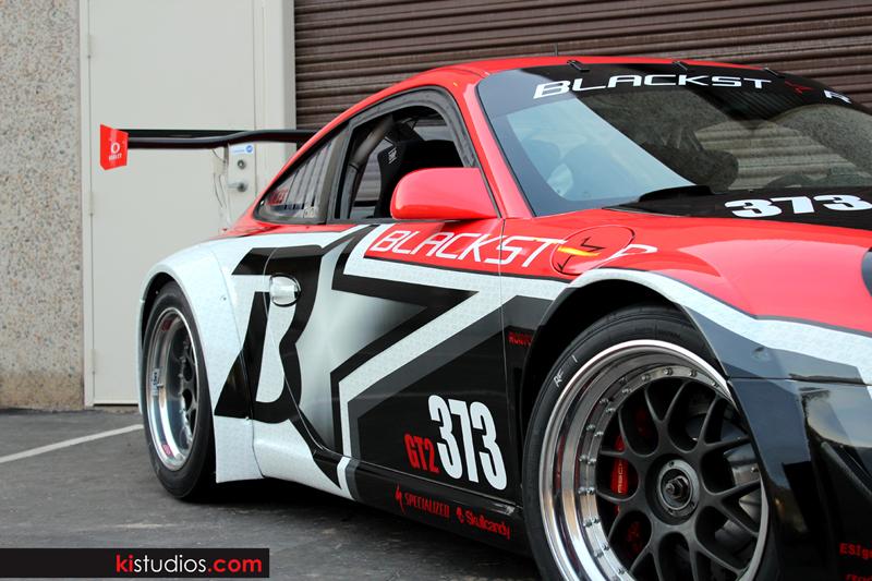 Wrap Vs Paint >> Blackstar Race Team Porsche GT3 Cup Wraps - KI Studios