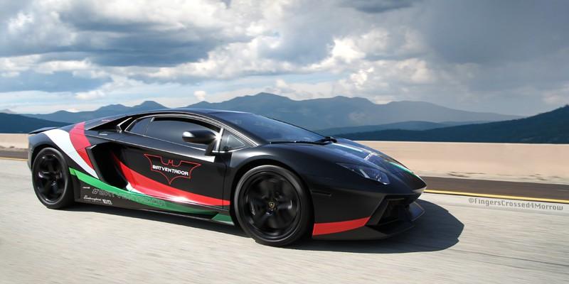 Lamborghini Aventador Wrap Design