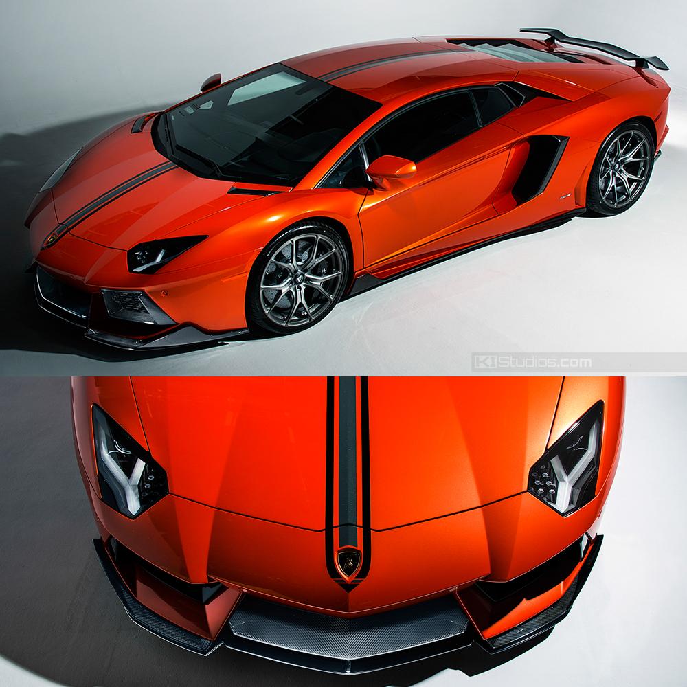 Lamborghini Aventador-V Stripe Kit