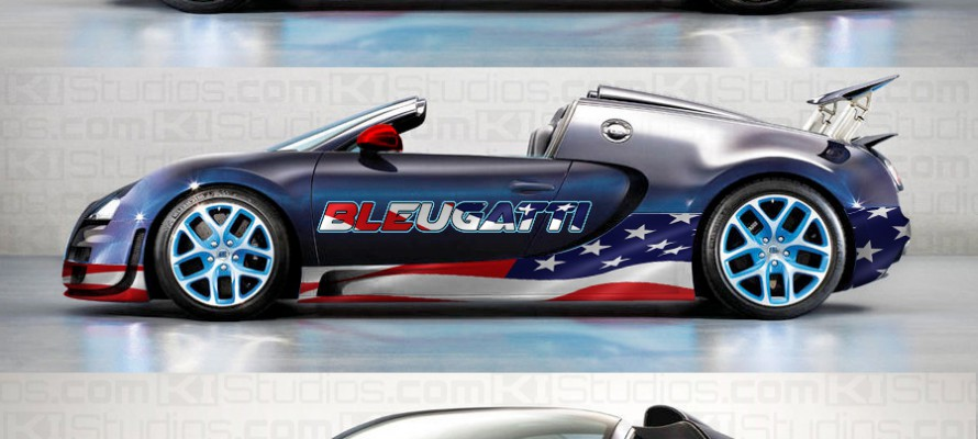 Bugatti Veyron Grand Sport Vitesse Wrap