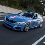 BMW M4 Rolling Shot