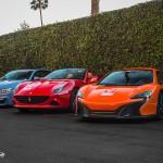 Mclaren, Ferrari, BMW