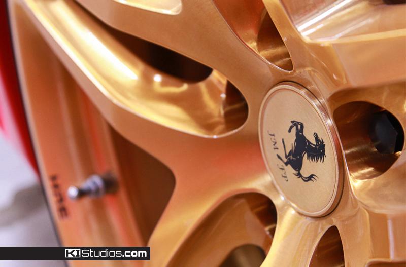 Ferrari JMFP wheel cap