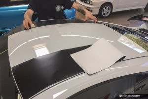 Porsche Stripes Installation - DIY car graphics
