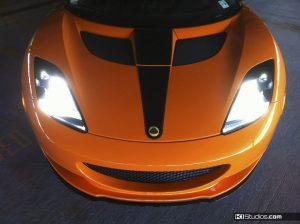 Orange Lotus Evora Stripes - KI Studios