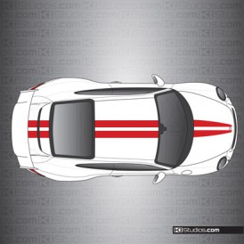 Porsche 991 GT3 Stripe Kit 007