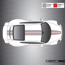 Porsche 991 GT3 Stripe Kit 008