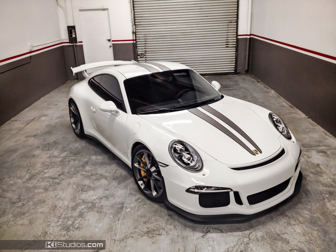 Porsche 991 Gt3 Rs Stripes Dual Racing Two Colors