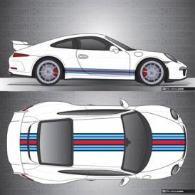 Porsche 991 GT3 Stripe Kit 009