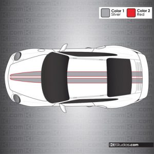 Porsche 997 GT2 Stripe Kit 008