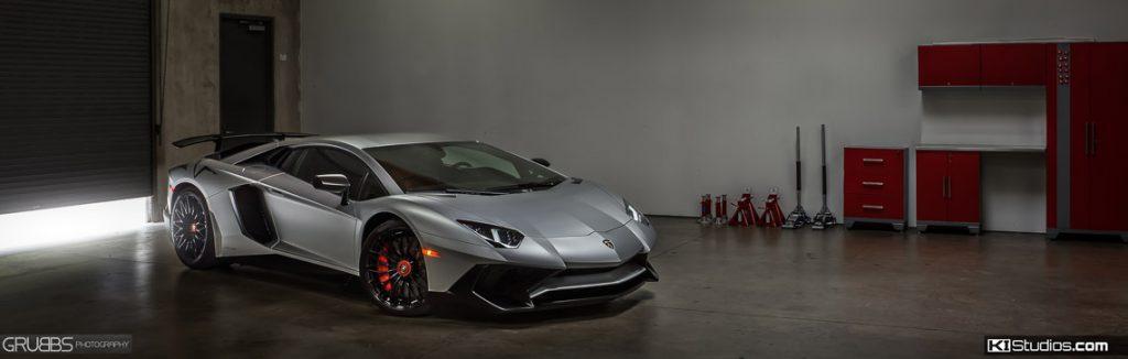 Full Body Clear Bra Lamborghini Aventador SV - KI Studios San Dieog Car Wraps