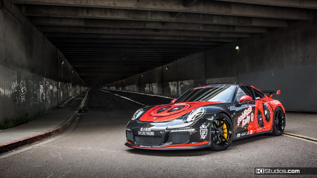 Porsche 991 GT3 Printed Wrap - San Diego Car Wraps KI Studios