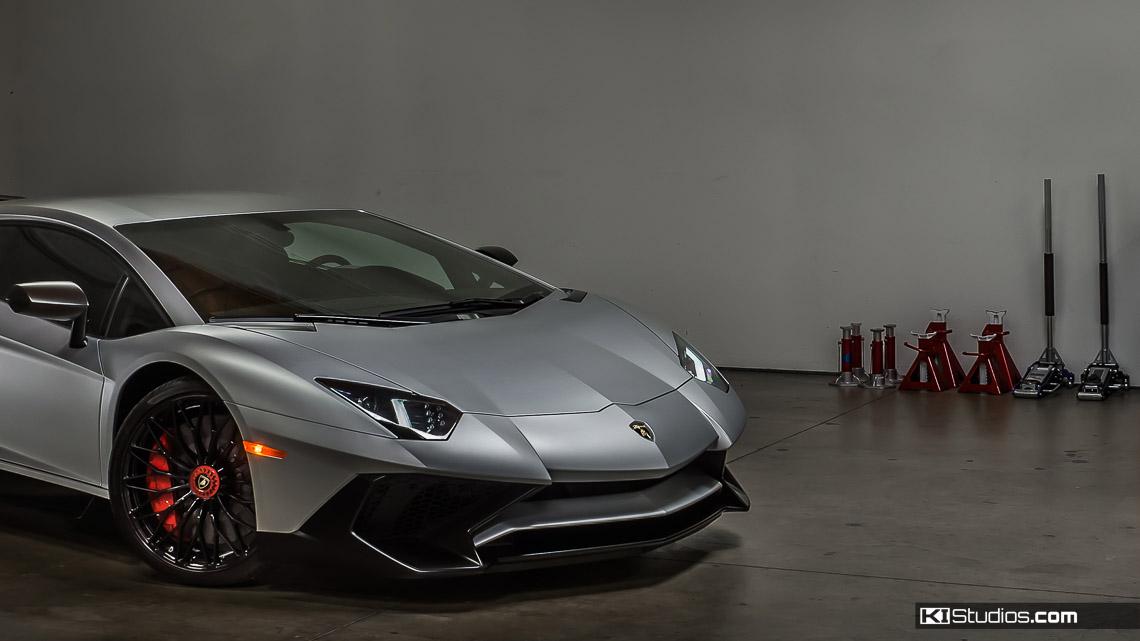 Lamborghini Aventador San Diego Clear Bra