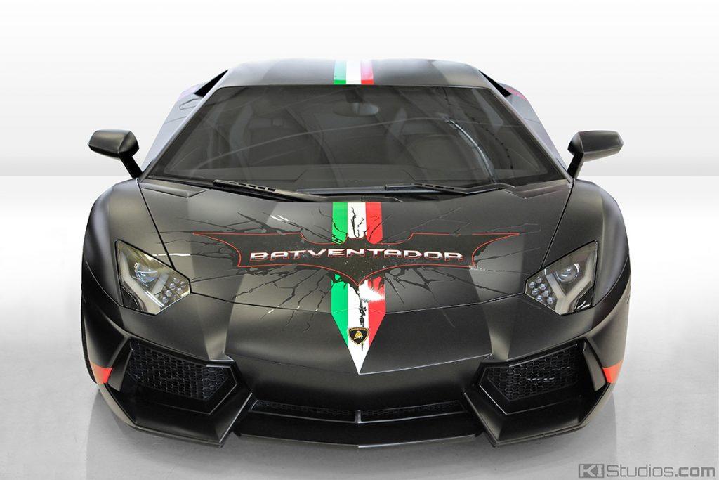 Lamborghini Batventador Front View - KI Studios