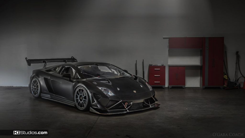 Lamborghini Gallardo Race Car - Color Change