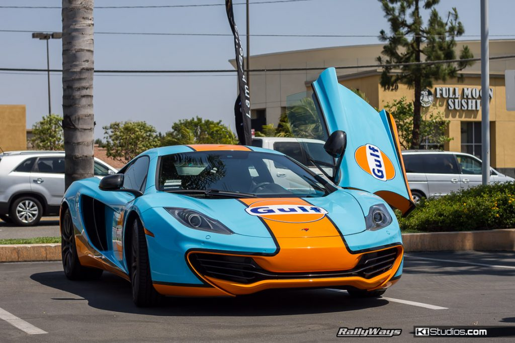 MacLaren MP4-12C Gulf Livery - KI Studios Car Wraps