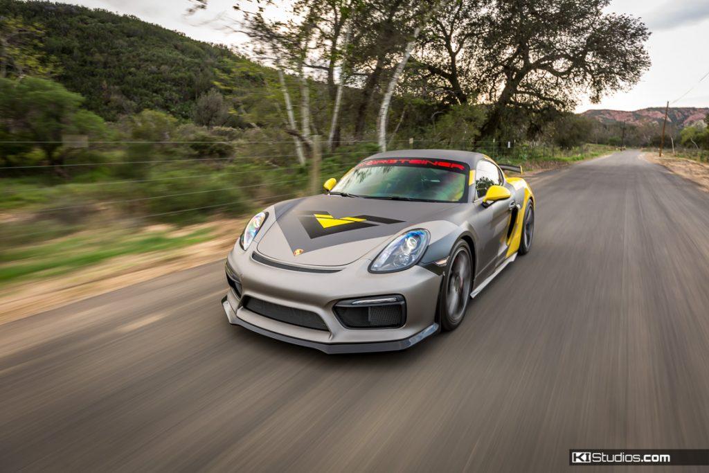 Vorsteiner Porsche Cayman GT4 - San Diego Wraps