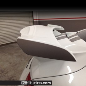 Porsche 991 GT3 Wing End Cap Decal