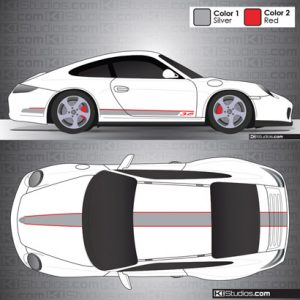 Porsche 997 Carrera Stripe Kit 001