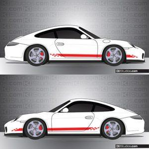 Porsche 997 Carrera Stripe Kit 004