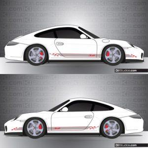 Porsche 997 Carrera Stripe Kit 005