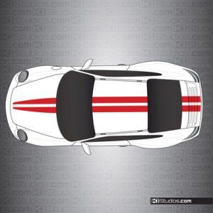 Porsche 997 Carrera Stripe Kit 007