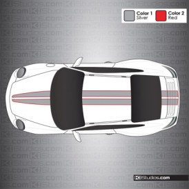 Porsche 997 Carrera Stripe Kit 008