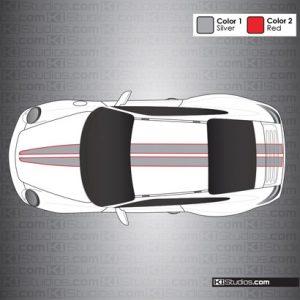 Porsche 997 Carrera Stripe Kit 008