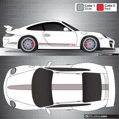 Porsche 997 GT3 Stripe Kit 001