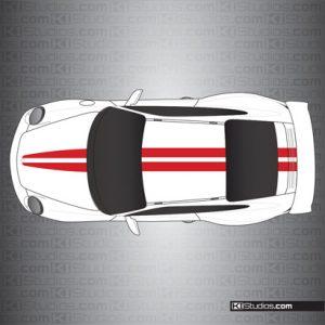 Porsche 997 GT3 Stripe Kit 007