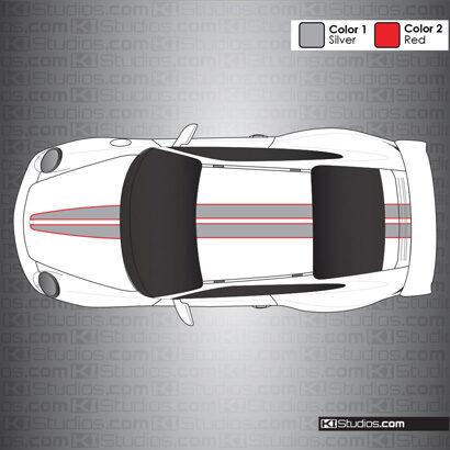 Porsche 997 GT3 Stripe Kit 008