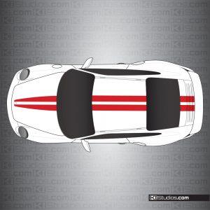 Porsche 997 Turbo Stripe Kit 007
