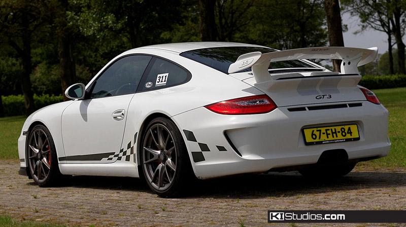Checkered Stripes For Porsche 991 Gt3 Choose You Color
