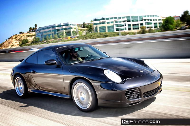 Porsche 997 003 Extended Checker Side Stripes By Ki Studios