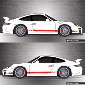 Porsche 997 GT3 Stripe Kit 004