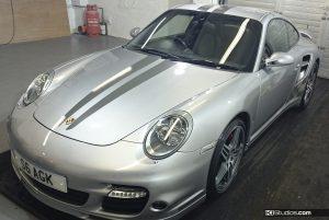 Porsche 997 Turbo Stripes - KI Studios