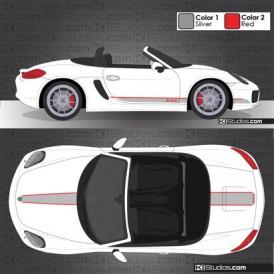 Porsche 981 Boxster Stripe Kit 005