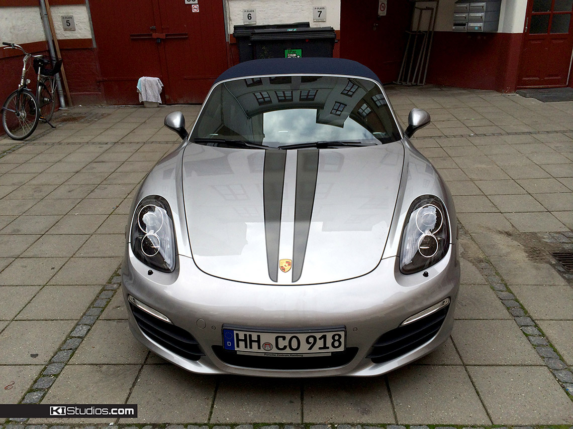 KI Studios Dual Color Top Stripes For The Porsche Boxster 981