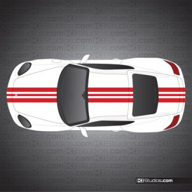 Porsche 987 Cayman Stripe Kit 009