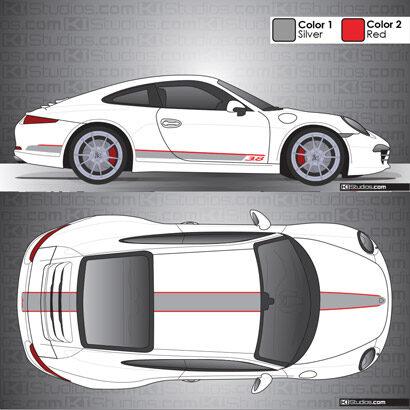 Porsche 991 Carrera Stripe Kit 001
