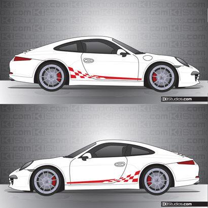 Porsche 991 Carrera Stripe Kit 002