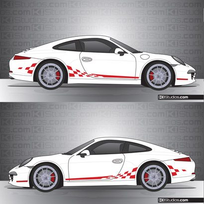 Porsche 991 Carrera Stripe Kit 003