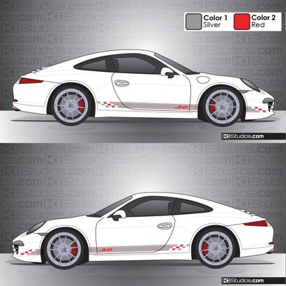 Porsche 991 Carrera Stripe Kit 005